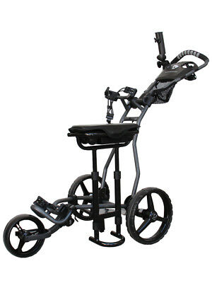 Stonehaven Glide ST Golf Buggy - Charcoal/Black
