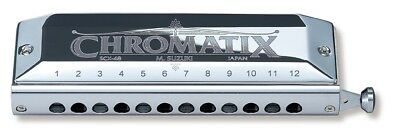 Suzuki SCX-48 Chromatix Series Harmonica C 12 Hole. Huge Saving