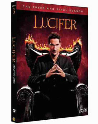 Lucifer:The Complete Third Season 3 (DVD, 5-Disc Set, 2018) NEW