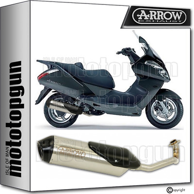Arrow Full System Exhaust Homologated Reflex 2 Aprilia Atlantic 250 2010 10