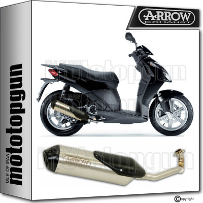 Arrow Full System Exhaust Homologated Reflex 2 Aprilia Sport City 125 2005 05