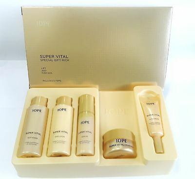 *IOPE* Super Vital Special GIFT RICH (5 items) - Korea Cosmetic
