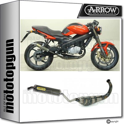 Arrow Full System Exhaust Homologated Made With Kevlar Cagiva Raptor 125 2005 05