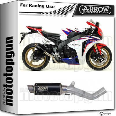 Arrow Kit Exhaust Race Gp2 Steel Black Honda Cbr 1000 Rr 2008 08 2009 09 2010 10