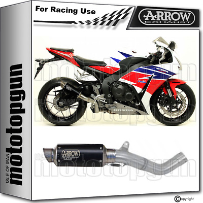Arrow Kit Exhaust Race Gp2 Steel Black Honda Cbr 1000 Rr 2014 14 2015 15 2016 16
