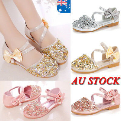 AU Toddler Girls Sandals Kids Baby Casual Summer Flats Beach Shoes Infant Size
