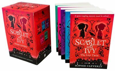 Sophie Cleverly Scarlet and Ivy Collection 5 Book Collection, The Lost Twin, The