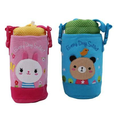 Portable Baby Kids Water Bottle Sleeve Kettle Case Insulator Cute Bag Cover T