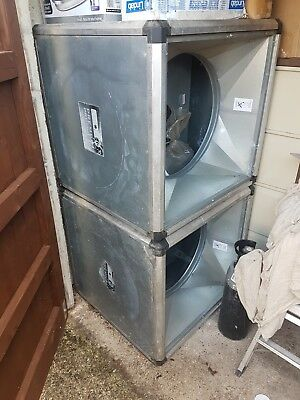 Helios GBD560/4/4 3Ph Centrifugal Gigabox fan