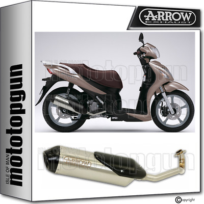 Arrow Full System Exhaust Homologated Reflex 2 Suzuki Sixteen 150 2012 12