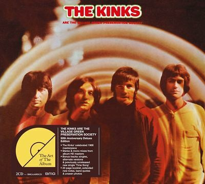 THE KINKS - THE VILLAGE GREEN PRESERVATION SOCIETY 50th ANNIVERSARY DELUXE 2 CD
