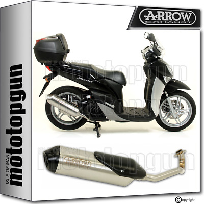 Arrow Full System Exhaust Homologated Reflex 2 Nichrom Yamaha Xenter 150 2015 15