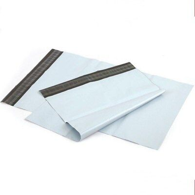 White Mailing Bags Plastic Mail Postage Post Polythene Strong Seal All Sizes