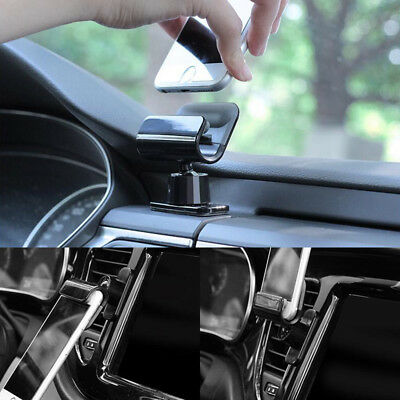 """Universal Interior Gravity Car Phone Holder 4-7"""" Mounts Stand For iPhone Samsung"""