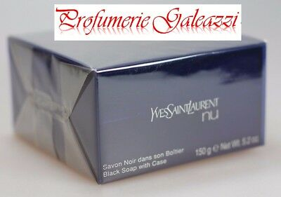YSL NU BLACK SOAP WITH CASE - 150 g