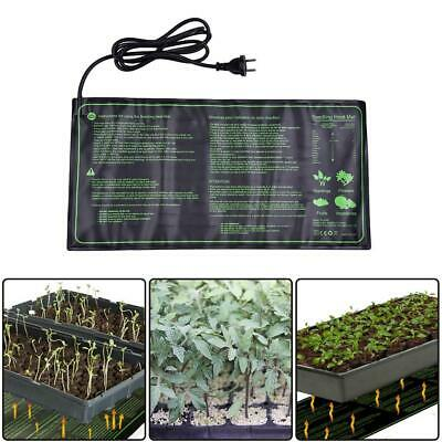 UK 18W Waterproof Seedling Plant Hydroponic Heat Mat Pet Retile Warm Heating Pad