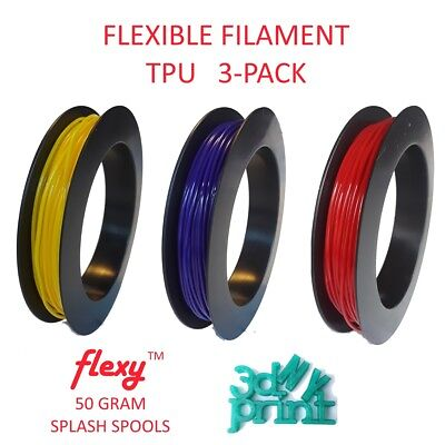 3d Printer Consumables Ninjaflex 1.75mm Tpu Flexible Filament Midnight