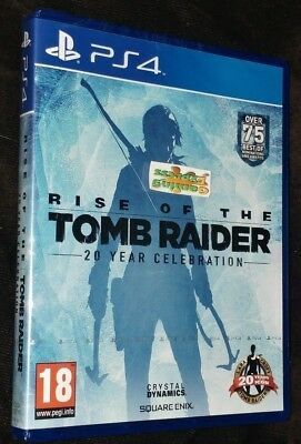 Rise of the Tomb Raider 20 Year Celebration Playstation 4 PS4 NEW SEALED