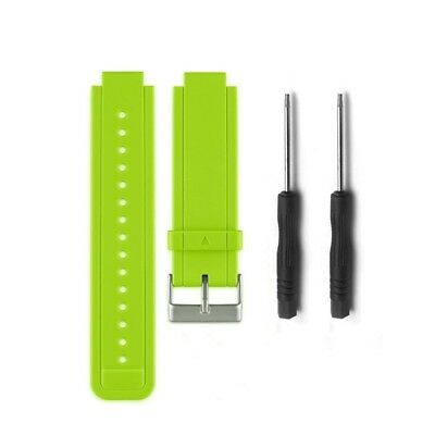 (Lime) - HWHMH Replacement Silicone Bands With Pin Removal Tools for Garmin
