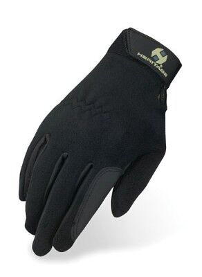 (Size 8, Black) - Heritage Performance Fleece Glove. Heritage Products
