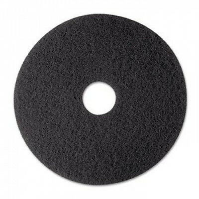 Stripper Floor Pad 7200, 30cm , Black, 5 Pads/Carton. 3M. Delivery is Free