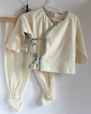 Rare Marlemania Designs-Retro Rascals Eco Baby Cute Top/Matching Pants w/Feet