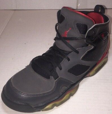 best cheap 53352 ca1c3 Nike Air Jordan Flight Club 91 Black/Red 555472-001 Grade-School Kids