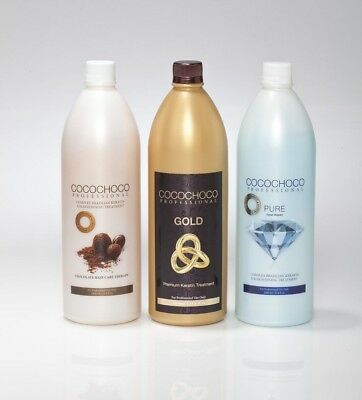 Cocochoco Brazilian Keratin Treatment Blow Dry Hair Straightening 1L Bottle