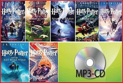 (MP3-CD)  Harry Potter 7 Audiobooks read by Jim Dale - Mp3 Unabridged