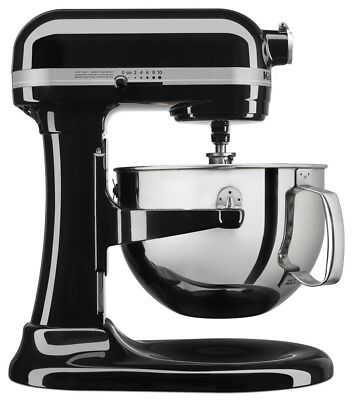 KitchenAid 6Qt Pro 600 Mixer - Onyx Black