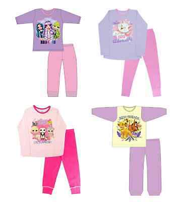 Girls Character Pjs Little Pony, Beauty, Minnie Mouse, Long Pyjamas 1-10yrs