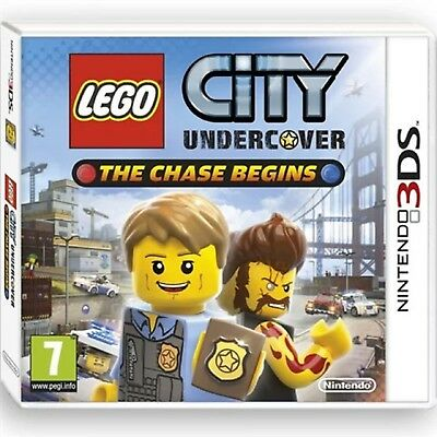 LEGO CITY UNDERCOVER CHASE BEGINS Nintendo 3DS Video Game 3 DS New UK Rel Sealed