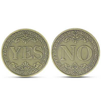 Commemorative coin floral yes no letter ornaments collection art gift souvenirBI