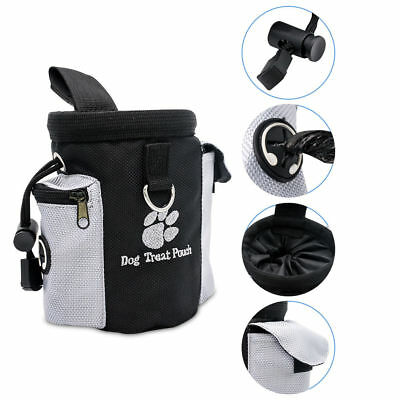 Detachable Pet Training Treat Snack Bag Dog Pouch Doggie Feed Pocket Waist Bag