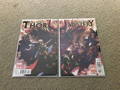 The Mighty Thor #18 Variant & Journey Into Mystery #642 Variant