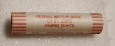 1974D Lincoln Memorial Cent Uncirculated Obw Penny Sealed Rolls Federal Reserve