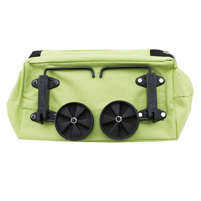 Green Day Shopping Trolley Dolly Blue Shopping Grocery Foldable Cart ST