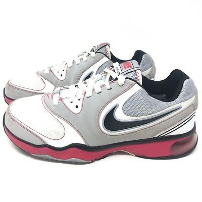 c9bdb8ad890 Nike Air Compete TR Trail Running Shoes Sneakers White Pink Women s Size  8.5 M