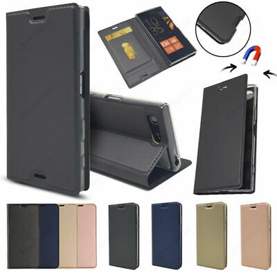 For Huawei Y5 Y6 Y9 2018 Shockproof Magnetic Flip Card Wallet Leather Case Cover