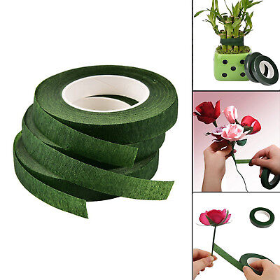 2-10 Rolls Paper Florist Eco Floral Tape Wedding Bouquet DIY Stem Wrap Supplies