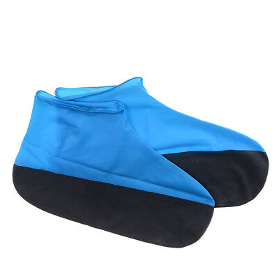 EG_ 1 Pair Waterproof Rain Shoes Cover Anti-slip Boots Motorcycle Reusable Overs