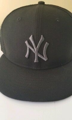 157b26fb666 ... best new york yankees new era mlb blackout mesh 9fifty snapback cap  dd1ff 76f3f