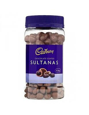 Cadbury Sultanas Chocolates 380gm x 10