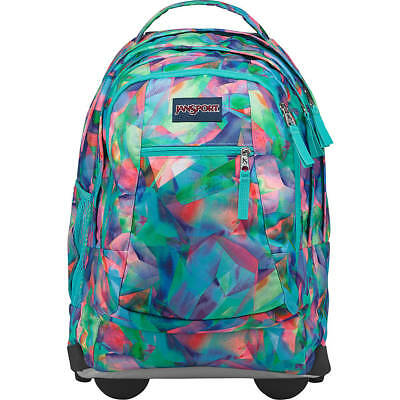 055c47c1e33a JANSPORT DRIVER 8 Rolling Backpack- Exclusive Colors - Crystal Light ...