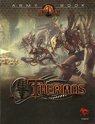 AT-43 Therian Army Book (BRAND NEW) Rackham Miniatures Game