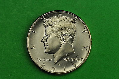 2015-P Choice BU Mint State Kennedy US Half Dollar Coin