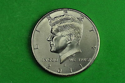 2011-D Choice BU Mint State Kennedy US Half Dollar Coin