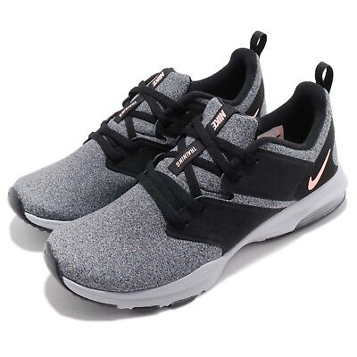online store 2eb52 ce451 Nike Wmns Air Bella TR Black Grey Women Cross Training Shoes Sneakers  924338-010