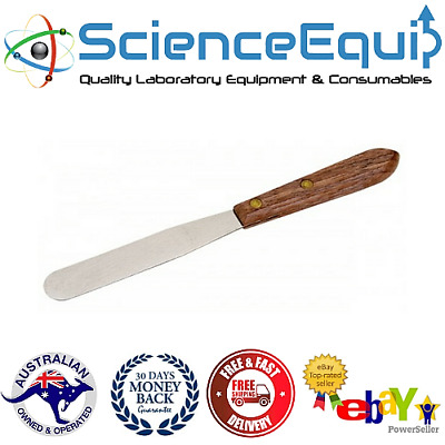 STAINLESS STEEL Spatula Knife with Wooden Handle PREMIUM QUALITY, 3 Sizes