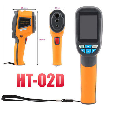 HT-02D Handheld IR Imager Thermal Imaging Camera 1024p Color Display CE Gift Bag